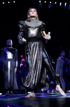 MDNA Tour. Can only imagine the crazy costume changes + preparation for all of this.