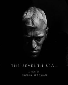 The Seventh Seal is a 1957 Drama, Fantasy film directed by Ingmar Bergman and starring Max von Sydow, Gunnar Björnstrand. Max Von Sydow, The Criterion Collection, Lauren Bacall, Great Films, Good Movies, Movie Stars, Movie Tv, Werner Herzog, The Seventh Seal