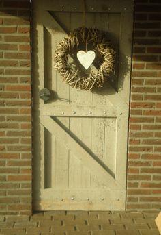 Tuinpoort / deur van steigerhout
