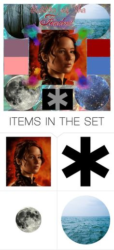 """""""katniss // audition"""" by brooklynself ❤ liked on Polyvore featuring art"""