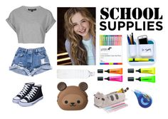 """School "" by e-macgregormi ❤ liked on Polyvore featuring Topshop and Wite"