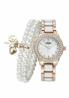 Buffalo, Bracelet Watch, Watches, Bracelets, Accessories, Products, Fashion, Watch, Round Round