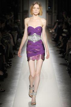 Balmain Spring 2009 Ready-to-Wear Fashion Show - Anna Selezneva