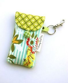 phone pouch tutorial...will add a zipper pocket for cards and money, and lanyard for the days I don't need my purse.