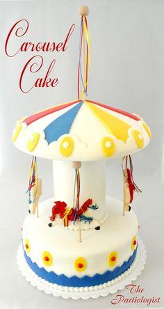 Love this carousel cake