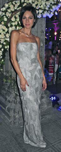 FOTO exclusiva de @celinadelvillar en un vestido Óscar de la Renta, una de las mejor vestidas de la noche, Gala Moda @NextelMX