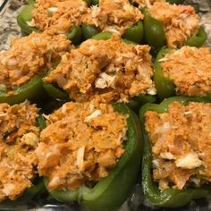 Louisiana Seafood, Louisiana Recipes, Cajun Recipes, Shrimp Recipes, Beef Recipes, Cooking Recipes, New Orleans Stuffed Bell Peppers, Stuffed Peppers, Grilled Cheese Avocado
