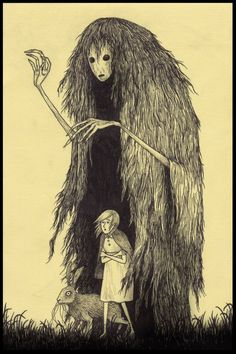 """From Out of Nowhere"" John Kenn Mortensen Scary Drawings, Dark Art Drawings, Fantasy Kunst, Dark Fantasy Art, Kunst Inspo, Art Inspo, Arte Horror, Horror Art, Art And Illustration"