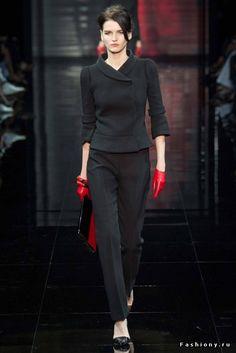 Armani Prive Haute Couture Осень-Зима 2014-2015