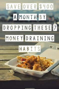 Quirky Bohemian Mama: Save over $400 a month by dropping these 7 money draining habits {fugal living, get out of debt}