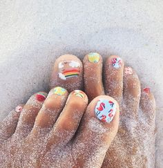 Happy Feet | Nail ar