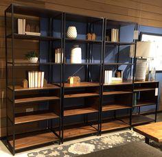 #CrateAndBarrel exploration :  Bookworm's setup for the beloved books eh?