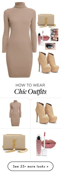 """""""Untitled #214"""" by sarooh2003 on Polyvore featuring tarte, Rumour London and Yves Saint Laurent"""