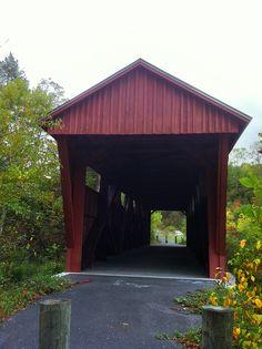 Hoke's Mill Covered Bridge outside of Ronceverte, WV