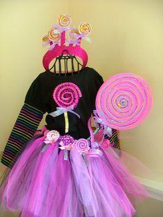 Girls 7  12 Princess Lollipop 4 Piece by lillollipopsdesigns, $55.00