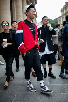 Out and about at Paris Men's Spring 2017 Fashion Week. http://www.womenswatchhouse.com/