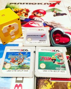 On instagram by adelaidegamingbuddy #gameboy #microhobbit (o) http://ift.tt/1PpFuig tagged us a few weeks ago to show our top 3 3ds games! Casey's are 1 Fantasy Life 2 The Legend of Zelda: A Link Between Worlds 3 Mario Kart 7  Would love to see @timtendogaming and @aussie_zeropants_gamer 's top three 3ds games if they haven't been tagged already  #nintendo #igersnintendo #mario #supermario #supermarioworld #mariokart #mariokart7 #zelda #legendofzelda #thelegendofzelda #alinkbetweenworlds…