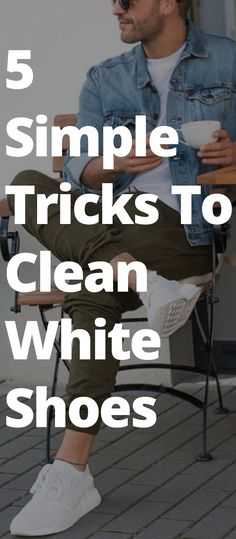 5 Simple Tricks To Clean White Shoes