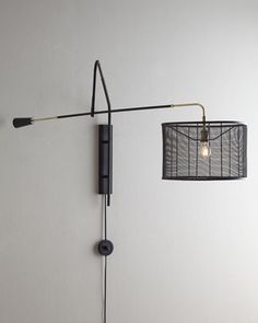 Boom-Arm+Sconce+by+Regina-Andrew+Design+at+Horchow.