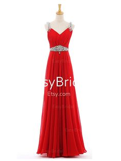 e2f4a4a81 Long day dresses/long evening gown/prom gowns/formal dresses/maxi dresses/long  dress with straps on Etsy, $119.99