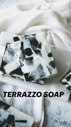 Terrazzo, Diy And Crafts, Arts And Crafts, Homemade Bath Bombs, Lavender Soap, Sweet Messages, Homemade Skin Care, Home Made Soap, Candle Making