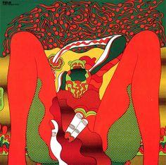 Keiichi Tanaami  'The Savage Eye: A' Silkscreen edition – 1966
