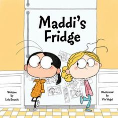 Maddi's fridge by Lois Brandt. After a day at the park, Sofia discovers that her best friend Maddi has no food in her refrigerator and decides to try to help, eventually enlisting her mother.