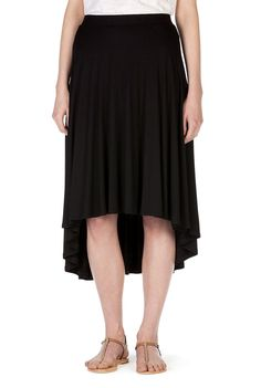 Hi-Low Skirt in black from Country Road