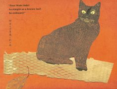 This picture book is the story of a cat named Wabi Sabi ...