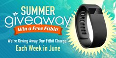 Fitbit Charge™ Giveaway! Swanson Health Products is giving away one per week!