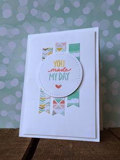 Bij Margriet Creatief, stampin up!, Sale-A-Bration,Best Year Ever DSP, Best Day Ever