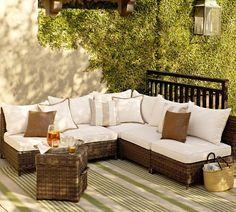 2017 luxury classic home furniture outdoor rattan furniture 5 seater sofa set