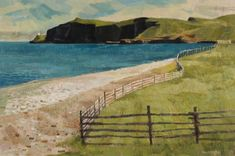 Alan Collier - Collier's Point Conception Bay Newfoundland x Oil on canvas Canadian Artists, Conception, Newfoundland, Illustration Art, Illustrations, Oil On Canvas, Golf Courses, Water, Painting