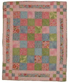 Bouncing Borders Quilt kit...I like the borders.
