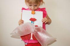 Víte, proč se při nádechu zvedá hrudník? My už ano! Vyrobili jsme si pomůcku, kterou zvládnou udělat i malé děti. Kids, Baby, Children, Boys, Newborn Babies, Infant, Baby Baby, Children's Comics, Doll