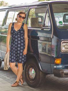 theblogbook | sewing | dress, onion, dots, lillestoff