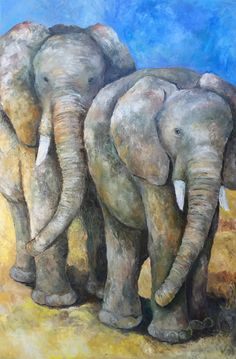 m in oil Old Couples, Art Society, Types Of Art, Paintings For Sale, Old Things, Elephant, Canvas Art, Oil, Wall Art