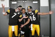 Hines Ward, Big Ben & The Bus  #Steelers