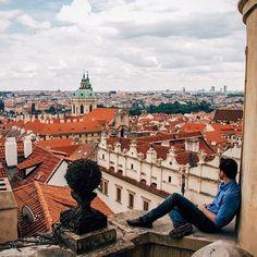 A group of millennials exploring the modern maker movement across the globe. Czech Republic, Prague, Paris Skyline, Places To Visit, Louvre, Wanderlust, Explore, Building, Followers