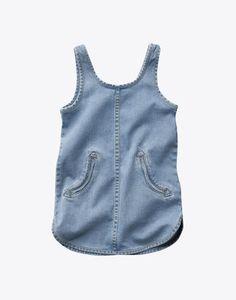 little jean dress