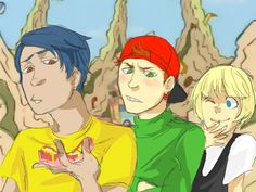 Cul De Sac Cool Kids by eyewhiskers on DeviantArt