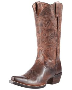 Ariat Women's Alabama Cowgirl Boot - Sassy Brown  http://www.countryoutfitter.com/products/30473-womens-alabama-boot-sassy-brown