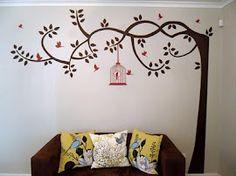 Lauren's wallart lounge