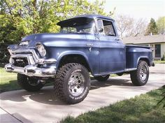 Father (1955 Chevy Hot Rod), Son (1955 GMC 4x4)...The build begins! - The 1947 - Present Chevrolet & GMC Truck Message Board Network