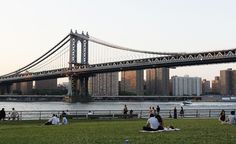 El Parque Dumbo ha sido utilizado como locación de innumerables películas, es ideal para tomar fotografías de Manhattan y ver desde abajo la imponente estructura del Puente de Brooklyn.