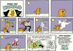 Heathcliff Comic Strip, October 23, 2016     on GoComics.com