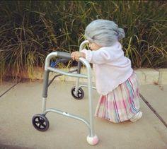halloween costume for babies still using a walker