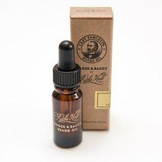 Ricki Hall's Booze & Baccy Beard Oil 10ml by Captain Fawcett | Captain Fawcett Limited