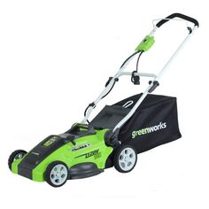 GreenWorks 16 in. 2-in-1 Electric Lawn Mower - 25142