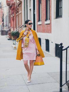 Уличная мода: Лучшие образы от модных блоггеров за неделю